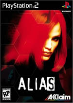 Alias The Game - Copertina Ps2
