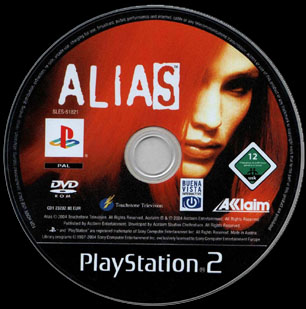 Cd Ps2 del Gioco Alias